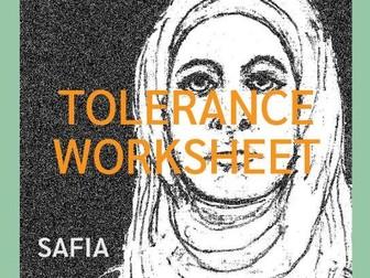 Tolerance Worksheet (UK)