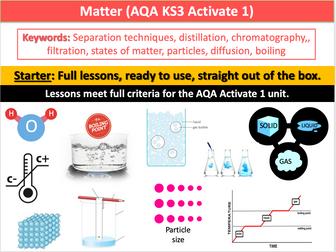 Matter (AQA Activate 1 KS3)