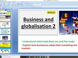 Edexcel GCSE Business 9-1 - 2.1.3 Business and globalisation
