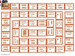 Reflexive and Reciprocal Pronouns Animated Board Game