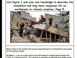 The Challenge of Natural Hazards Flashcards