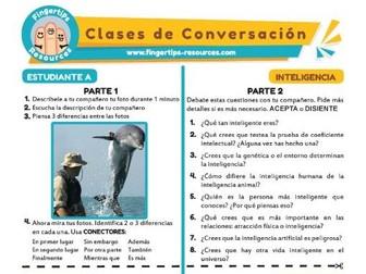 Inteligencia - Spanish Speaking Activity
