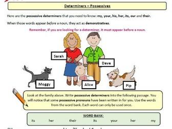 Year 4 English - Grammar & Punctuation