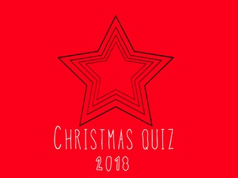 End of term Christmas Quiz