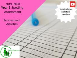 Year 2 Student Spelling Assessment