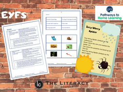 Reading and Writing Home Learning for EYFS