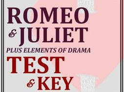 Romeo & Juliet Test & Key