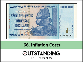 Economics: Lesson 66 - The Costs of Inflation (+ Worksheet)
