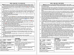 AQA English Language Mini Mocks - Paper 1 - Set 2