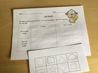 Carroll diagrams problem solving using dog biscuits