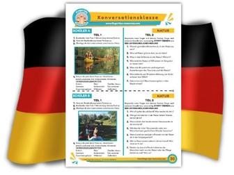 Natur - German Speaking Activity