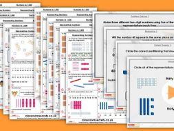 FREE Year 2/3 Mixed Age Autumn Block 1 Step 1 Maths Lesson Pack