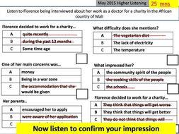 FRENCG GCSE LISTENING TECHNIQUE STRATEGIES
