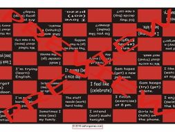 Gerunds and Infinitives Checker Board Game