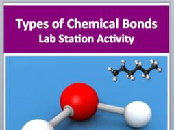 Types of Bonds and Intermolecular Forces - 7 Engaging Lab Stations