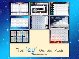 The 'ey' Phonics Games Pack