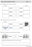Year-1---WORKSHEETS---One-more-and-one-less.pdf