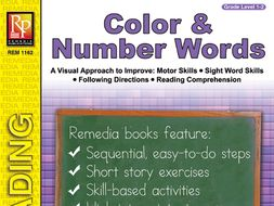 Color & Number Sight Words