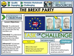 The Brexit Party + General Election 2019