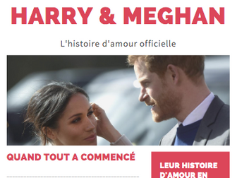 """Written Production """"the love story of Harry & Meghan"""""""