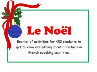 Le Noel - booklet of activities
