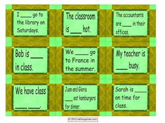 Adverbs of Frequency & Frequency Expression Cards  4 Pages = 36 Cards