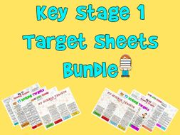 Child Friendly Year 1 Target Sheets Bundle