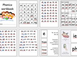 Comprehensive phonics booklet for RWI and Phonics screening