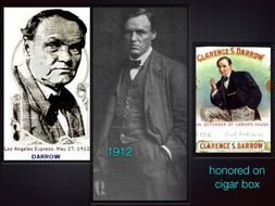 Clarence Darrow ~ Trial Lawyer ~ Criminal Law ~ Scopes Monkey ~ Leopold Loeb ET AL