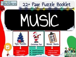Music Christmas Activities