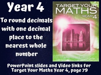 Round decimals to the nearest whole number