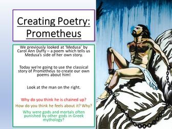 Writing Poetry - Prometheus