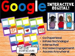 Google Drive Irregular Plural Nouns Digital Activities for L.2.1.B and L.3.1.B