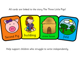 Colourful Semantics: The Three Little Pigs