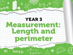 Year 3 - Measurement - Length and Perimeter - Week 9 - Spring - Block 4 - White Rose