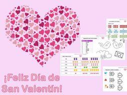 ¡Feliz Día de San Valentín! / Valentine's Day resources, Spanish