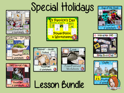 Special Holidays Lesson Bundle