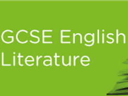 Revision: EDUQAS Poetry Anthology Comparative Essay 'A Wife in London' and 'The Manhunt'