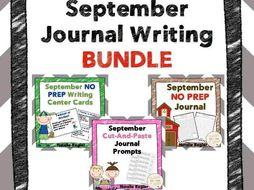 September Journal Bundle