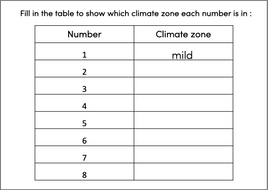 Identifying-world-climate-zones---activity-table---easier.pptx