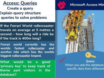 4.  Access Database: Queries & Operators (4/6)