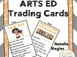 Arts Ed Trading Cards: Mini Anchor Charts and Self-Assessment Questions