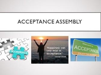 Acceptance Assembly