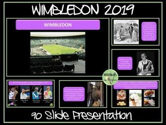 Wimbledon 2019 Presentation