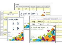 Phonics for SEN: Basic Level Spelling Practice Books
