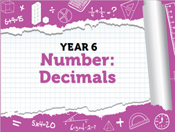 Year 6 Decimals Pack 2 - Spring