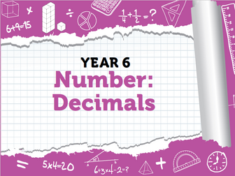 Year 6 Decimals Pack 2 - Spring