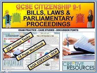 Bills laws & Parliamentary Proceedings