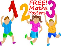 10 FREE Maths Posters For Every Classroom! Download and Share Today!