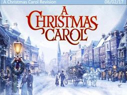 A Christmas Carol Quick Revision